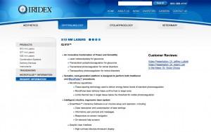 iridex before