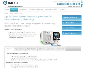iridex product