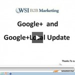 WSI B2B Marketing Google Local Changes Webinar