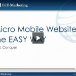 WSI B2B Marketing Mobile Websites Webinar