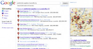 Changes to Google Local Search Results